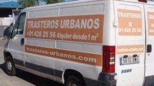 alquiler furgoneta trastero urbano